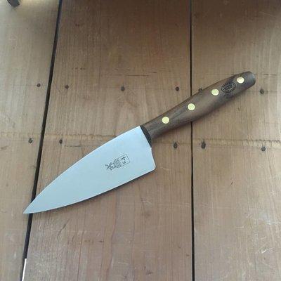 """Windmuehlenmesser 'K4' 5"""" Chef Stainless Walnut Handle"""