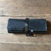 EvenOdd Tool Roll Waxed Canvas/ Bike Tube Black