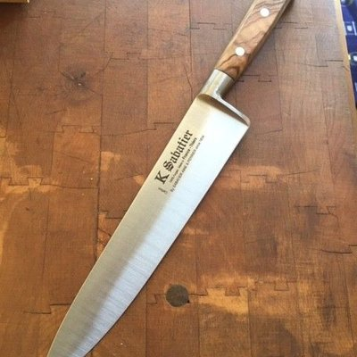 "K Sabatier OLIVE 8"" Chef Carbon Authentique"