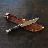 Lightly Used Sabatier Jeune 'New Vintage' Scout Knife with Sheath 1960's