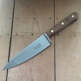 "Windmuehlenmesser '1922' 7"" Chef Carbon Walnut Handle"