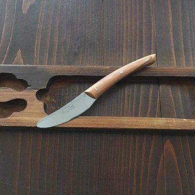 Le Thiers Néron 6cm Pate / Butter Knife Olive Handle