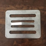 Chef's Press Chef's Press 8 oz stainless made in Oakland, CA