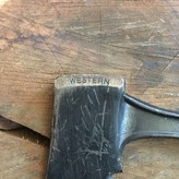 Western Hatchet 1960's Black Beauty  Heavy Duty Belt Axe