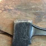 Western Hatchet 1960's Black Beauty  Heavy Duty Belt Axe