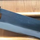 Tojiro 240mm Kiritsuke Gyuto Shirogami Kurouchi