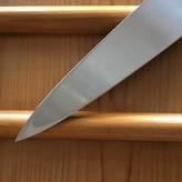 Yoshikazu Ikeda 330mm Yanagi Honyaki Water Quench Shirogami #2 Ebony