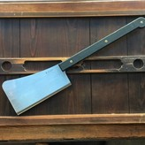 """K Sabatier 11"""" Lyon Style Two Handed Cleaver Carbon"""