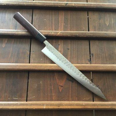 Ohishi 240mm Wa-Sujihiki SLD Tsuchime