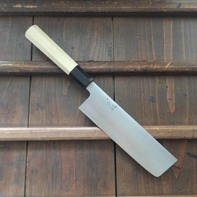 Ashi Hamono 180mm Wa- Nakiri Swedish Stainless