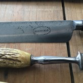 """Set of George Butler Cutlery- 10"""" Carving Knife Table Knife & 2 Forks 1860's-70's"""