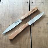 Opinel Set Of 2 Paring Knives Carbon