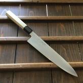 Yoshikazu Ikeda Shirogami #2 240mm Gyuto Iron Clad Oct Ho