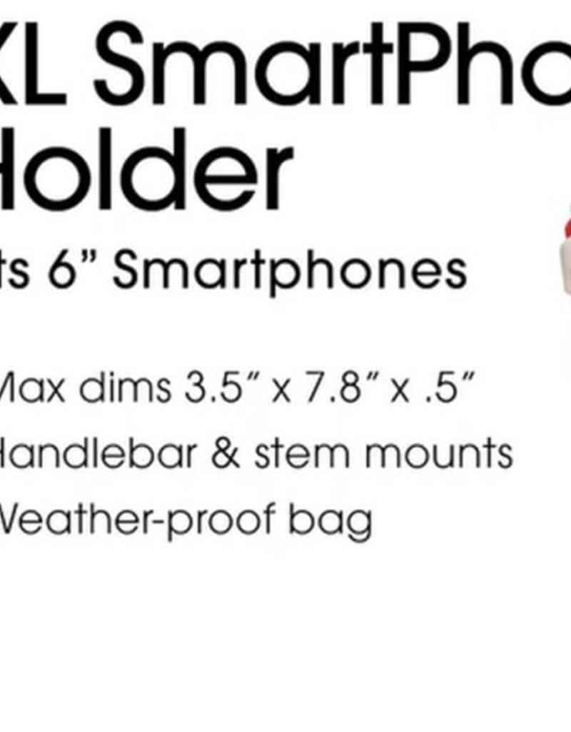 DELTA Delta XL Handlebar Mounted Phone Holder, Black