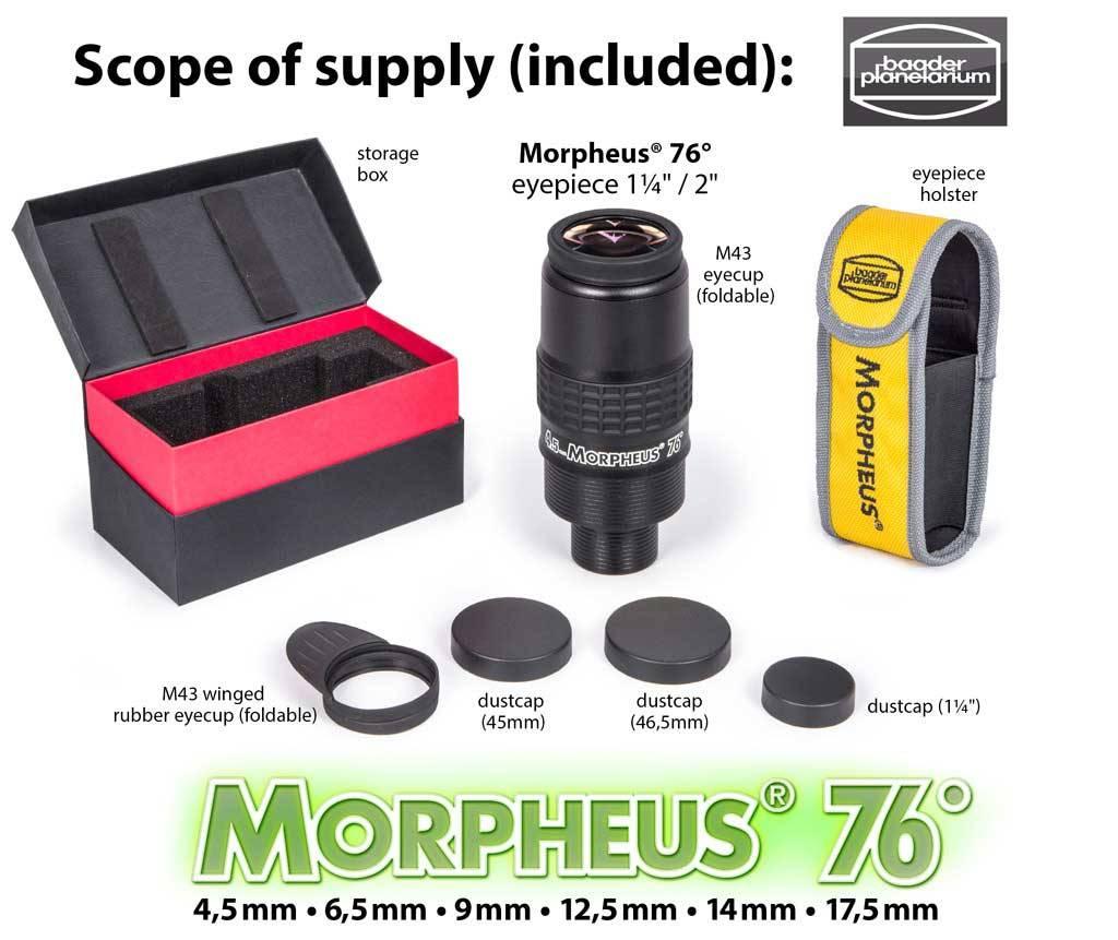 Baader Planetarium Baader Morpheus 76deg Eyepiece 4.5mm