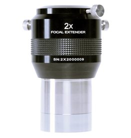 Explore Scientific Explore Scientific 2x Focal Extender; 2.0-inch O.D. Barrel with 1.25-inch O.D. Adapter