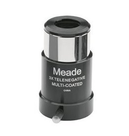"Meade Meade Series 4000 #128 3X Short-Focus Barlow Lens (1.25"")"