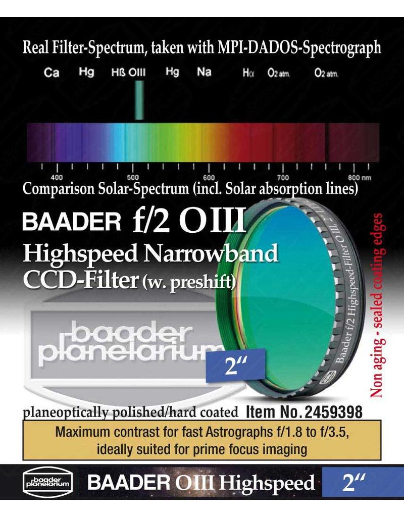 Baader Planetarium Baader f/2 Highspeed S-II Narrowband CCD Filter