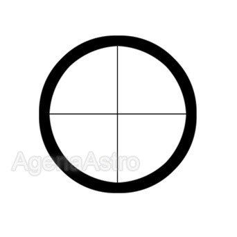 "Antares 1.25"" Kellner Eyepiece with Focusable Cross-Hair - 27mm"