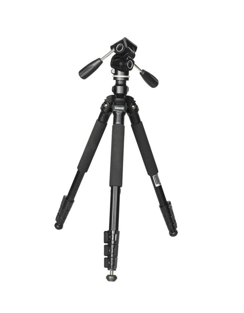 "Bower Bower VT6500 Heavy Duty 65"" Steady Lift series Tripod with 3 way head"
