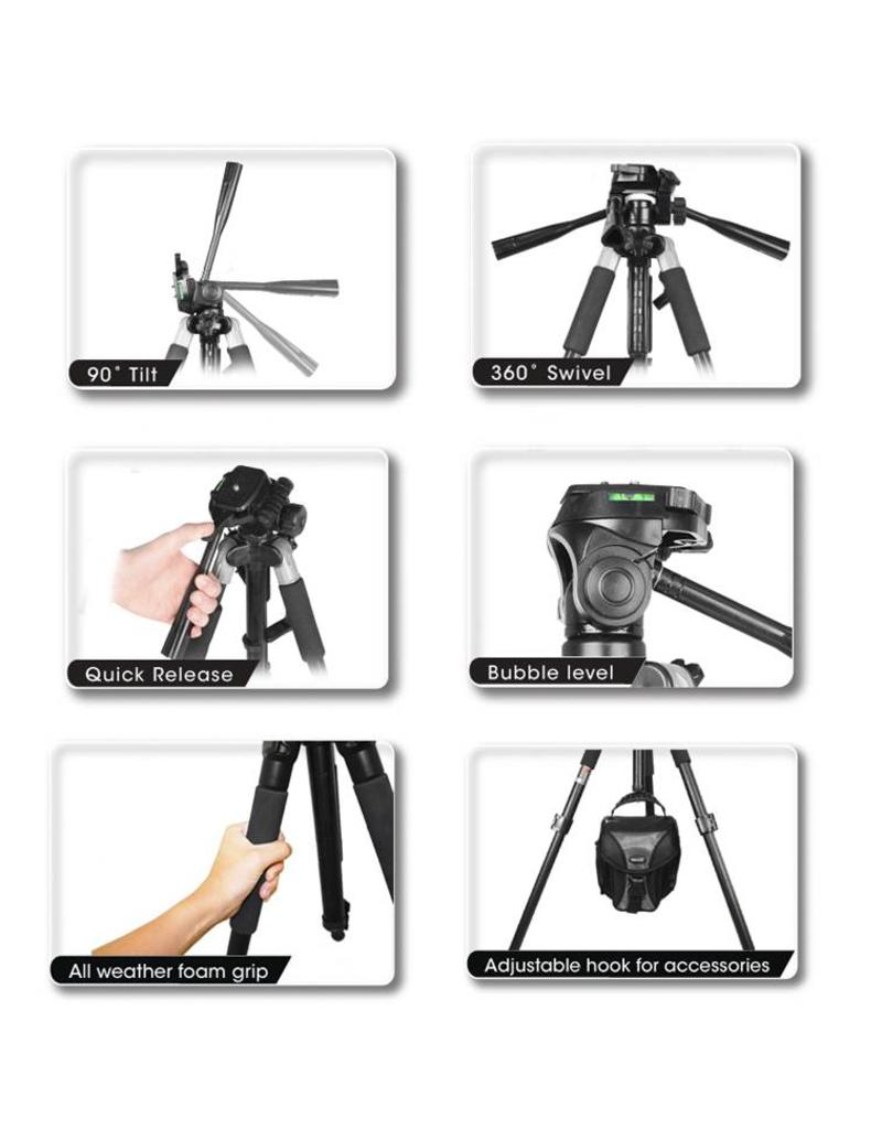 "Bower Bower VT6800 72"" Heavy Duty Photo/Video Tripod"