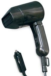12-Volt Hair Dryer with Folding Handle