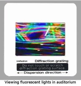 Unihedron Diffraction Grating