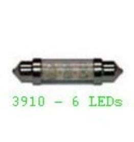 3910-6: 6 Red LED