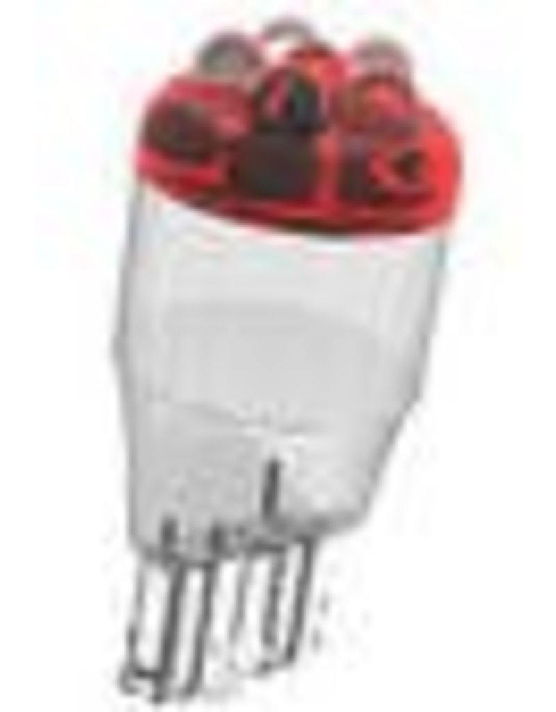 921-R12 Red LED (Wedge Base)
