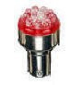 BA15S 67-R9-WV 9 Red LED (Bayonet Base)