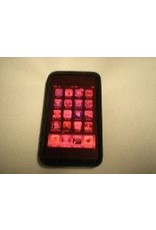 AstroGizmos Red Self Adhering Transparent Screen Cover 4 x 9