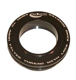Moonlite MoonLite 2 1/2 inch 68mm thread to 48mm filter thread with Lock Ring Adapter (Model 68mmto-48mm-filter-thread-LR-Adapter)