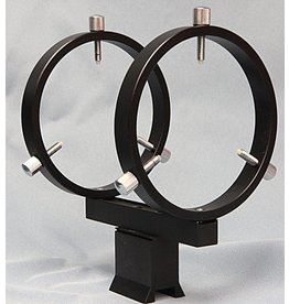 Stellarvue Stellarvue 80 mm Finder Rings - Mounts to Most Finderscope Dovetail Shoes - R080DA