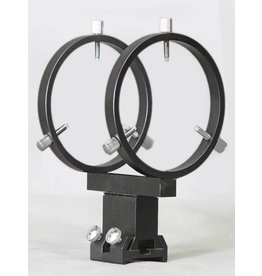 "Stellarvue Stellarvue 80 mm Finder Rings - Mounts to 2.5"" - 3.5"" Feather Touch Focusers - R080FA"