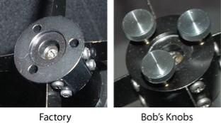 Bob's Knobs Knobs for SkyWatcher Newtonian Secondary