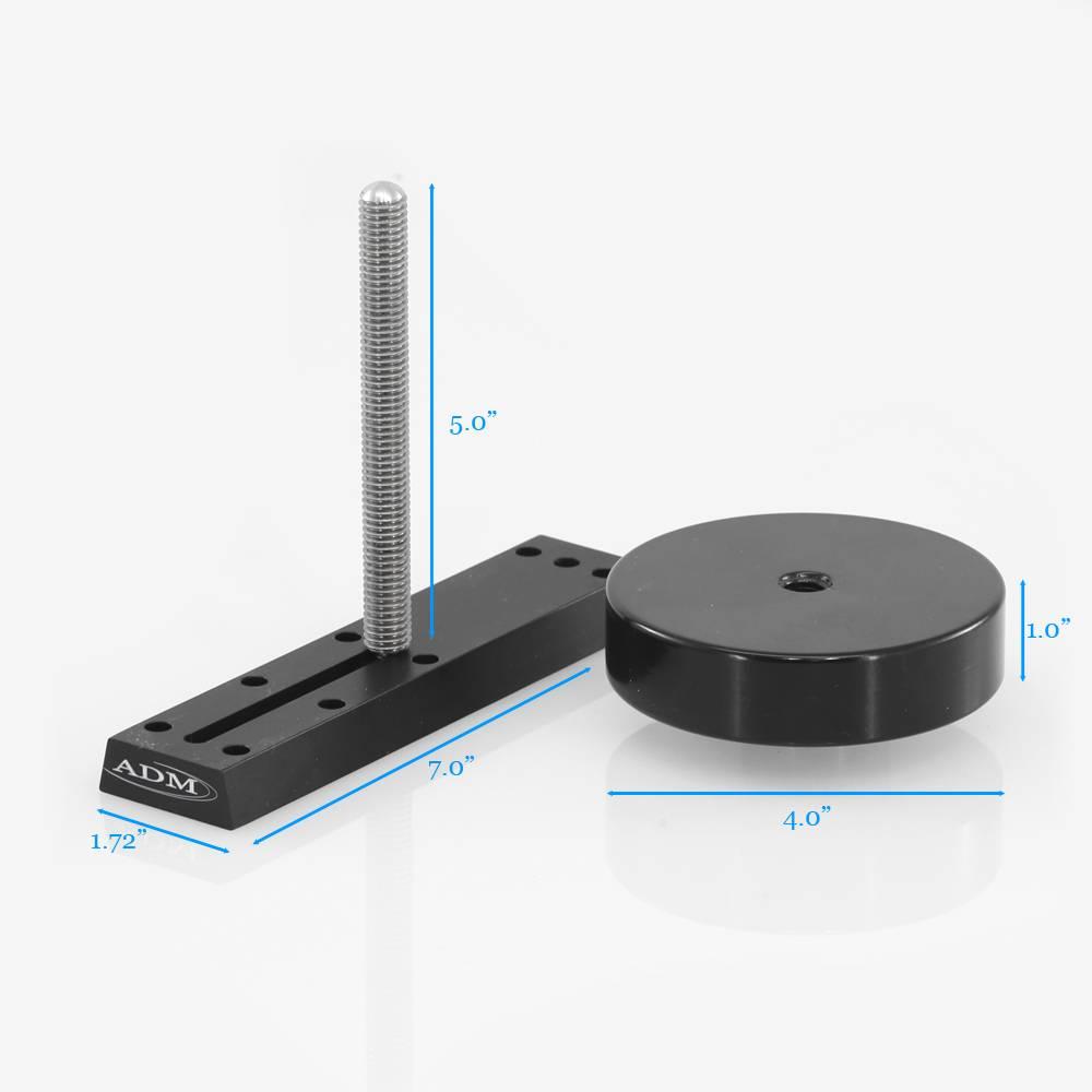 ADM VDUP-CW- V Series Universal Dovetail Bar Counterweighta