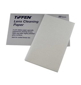 Tiffen Lens Cleaning Paper (Single pack of 50 sheets)