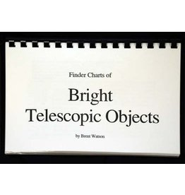 Sky Spot Finder Charts: Bright Telescope Objects