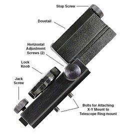 TeleVue Televue X-Y Adjustable Accessory Mount - with Dovetail