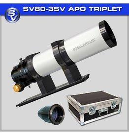 Stellarvue Stellarvue SV80S-3SV Photo-Visual Apochromatic Triplet Refractor