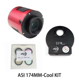 ZWO ZWO ASI174MM -COOL Monochrome CMOS Camera KIT with USB 3.0 Connection