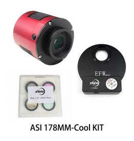 ZWO ZWO ASI178MM -COOL Monochrome CMOS Camera KIT with USB 3.0 Connection