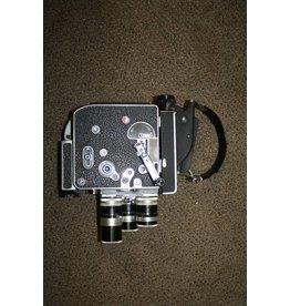 BOLEX H16 REX 5 RARE 8mm Conversion Model MOVIE CAMERA Body 400FT MAG READY