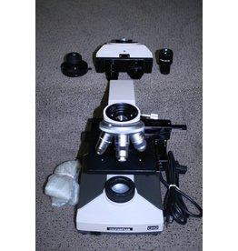 Olympus CH2 (CHT) Olympus CH-2 Binocular Microscope – 4x, 10x, 40x CHT model.Stereo Microscope (Missing eyepiece)