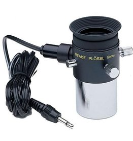 "Meade Meade #07067 Plossl 9mm Illuminated Reticle Eyepiece (1.25""), with 6' cord and plug"