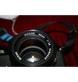 Nikon FA 35mm SLR Film Camera w/Ai-s 50mm F1.4 (Pre-owned)