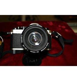Nikon FM2 with Nikkor 35-105mm Lens