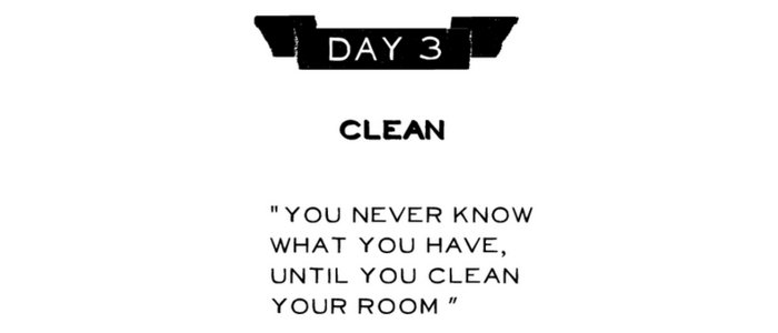 Day 3: Clean