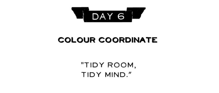 Day 6: Colour Coordinate