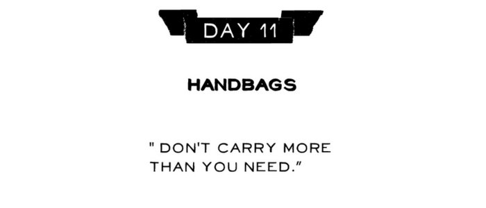 Day 11: Handbags